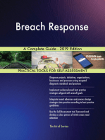 Breach Response A Complete Guide - 2019 Edition