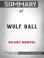Summary of Wolf Hall