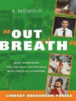 """""""Out of Breath"""" A Memoir"""