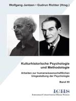 Kulturhistorische Psychologie und Methodologie