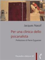 Per una clinica dello psicanalista