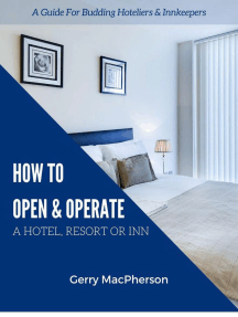 How to Open & Operate A Hotel, Resort or Inn
