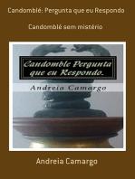 Candomblé: Pergunta Que Eu Respondo
