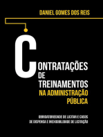Contratações De Treinamentos Na Administração Pública