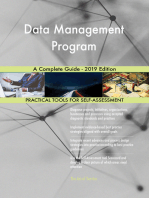 Data Management Program A Complete Guide - 2019 Edition