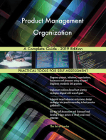 Product Management Organization A Complete Guide - 2019 Edition