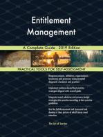 Entitlement Management A Complete Guide - 2019 Edition