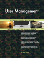 User Management A Complete Guide - 2019 Edition