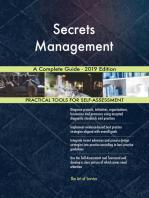 Secrets Management A Complete Guide - 2019 Edition