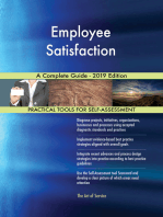 Employee Satisfaction A Complete Guide - 2019 Edition