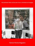 Educabilidade Política Do Educador Frente A Identidade Do Pedagogo