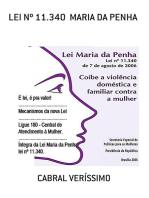 Lei Nº 11.340 Maria Da Penha