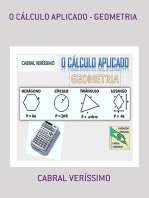 O CÁlculo Aplicado Geometria