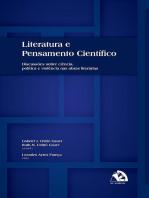 Literatura E Pensamento Científico