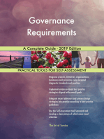 Governance Requirements A Complete Guide - 2019 Edition
