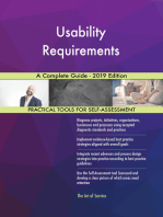 Usability Requirements A Complete Guide - 2019 Edition