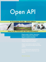 Open API A Complete Guide - 2019 Edition
