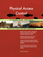 Physical Access Control A Complete Guide - 2019 Edition