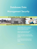 Databases Data Management Security A Complete Guide - 2019 Edition