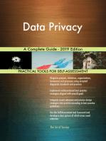 Data Privacy A Complete Guide - 2019 Edition