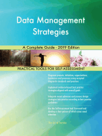Data Management Strategies A Complete Guide - 2019 Edition