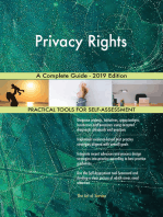 Privacy Rights A Complete Guide - 2019 Edition