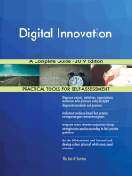 Digital Innovation A Complete Guide - 2019 Edition