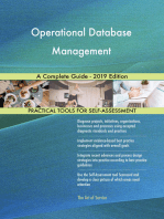 Operational Database Management A Complete Guide - 2019 Edition