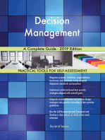 Decision Management A Complete Guide - 2019 Edition