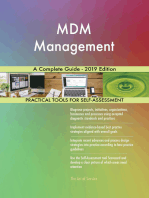 MDM Management A Complete Guide - 2019 Edition