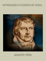 IntroduÇÃo À Filosofia De Hegel