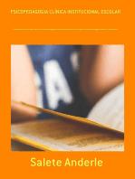 Psicopedagogia ClÍnica Institucional Escolar