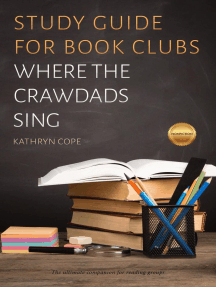 Study Guide for Book Clubs: Where the Crawdads Sing: Study Guides for Book Clubs, #39
