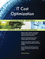 IT Cost Optimization A Complete Guide - 2019 Edition