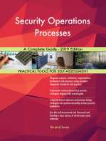 Security Operations Processes A Complete Guide - 2019 Edition