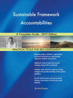 Sustainable Framework Accountabilities A Complete Guide - 2019 Edition