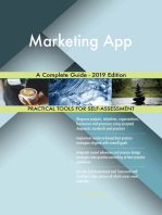 Marketing App A Complete Guide - 2019 Edition