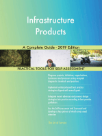 Infrastructure Products A Complete Guide - 2019 Edition