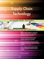 Supply Chain Technology A Complete Guide - 2019 Edition