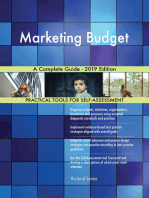 Marketing Budget A Complete Guide - 2019 Edition