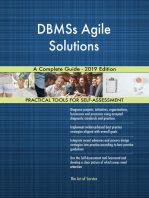 DBMSs Agile Solutions A Complete Guide - 2019 Edition