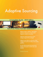 Adaptive Sourcing A Complete Guide - 2019 Edition