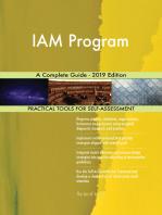 IAM Program A Complete Guide - 2019 Edition