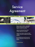 Service Agreement A Complete Guide - 2019 Edition