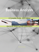 Business Analysts A Complete Guide - 2019 Edition