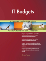 IT Budgets A Complete Guide - 2019 Edition