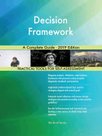 Decision Framework A Complete Guide - 2019 Edition
