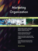 Marketing Organization A Complete Guide - 2019 Edition