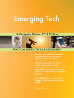 Emerging Tech A Complete Guide - 2019 Edition