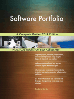 Software Portfolio A Complete Guide - 2019 Edition
